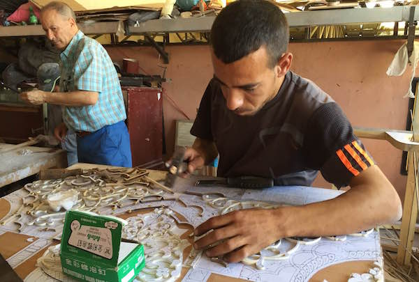 Artisans from Morocco