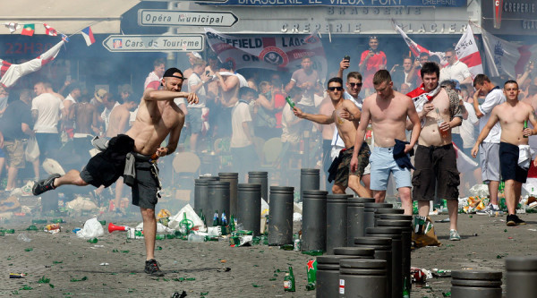 Bloody Street Battles in Marseille Ahead of England-Russia