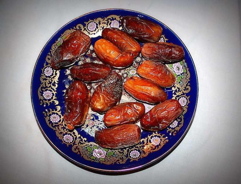 Dates during Ramadan