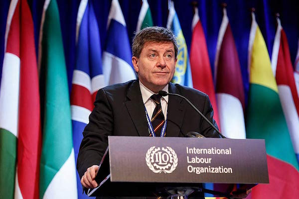 Director General of the International Labor Organization (ILO) Guy Ryder