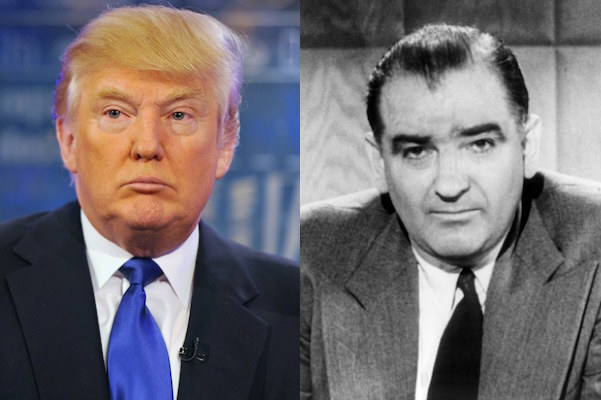 Donald Trump's Call for Ban on Muslim Reminiscent of McCarthyism