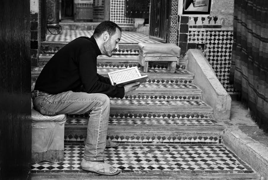 German Photographer Captures Beauty of Fez in Black and White by German photographer Victoria Knobloch