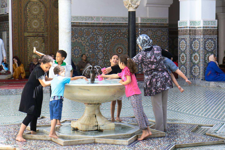 Inside Moulay Idriss Mausoleum