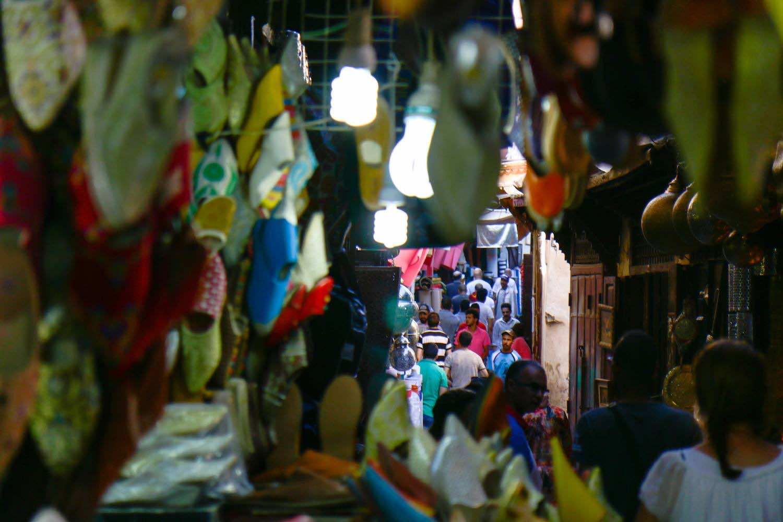 Inside the Alleyways of Fez Medina