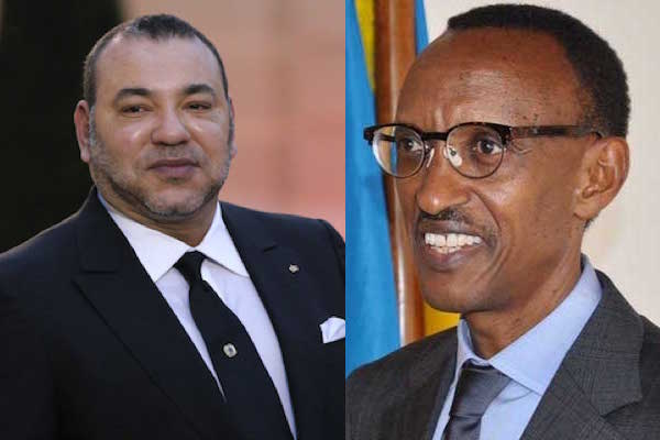 King Mohammed VI Holds Talks with Pres. Paul Kagame