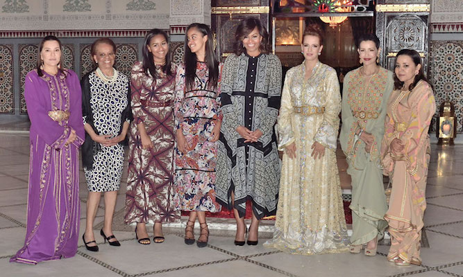 King Mohammed VI Hosts Iftar in Honor of US First Lady Michelle Obama