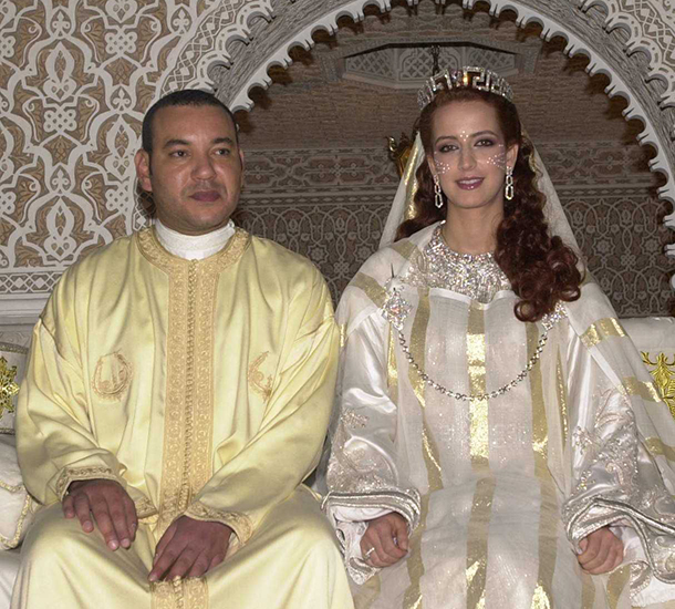 Lalla Salma, consort of Mohammed VI, the King of Morocco