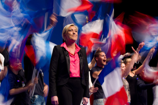 Marine Le Pen, President of the National Front
