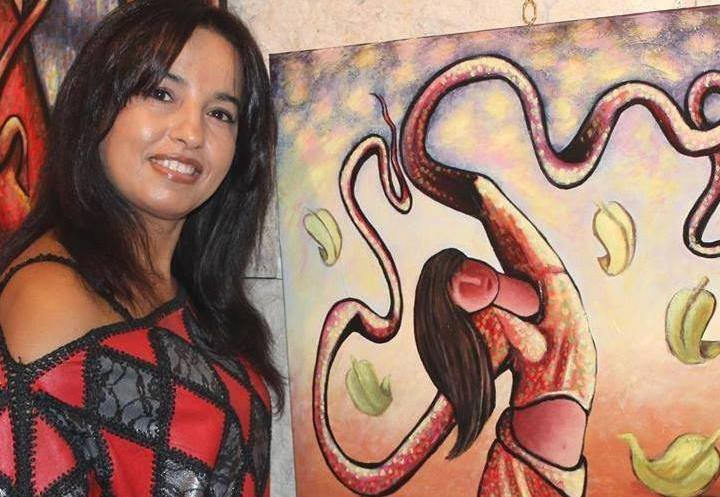 Meaux Celebrates Naima El Malkaoui's Paintings