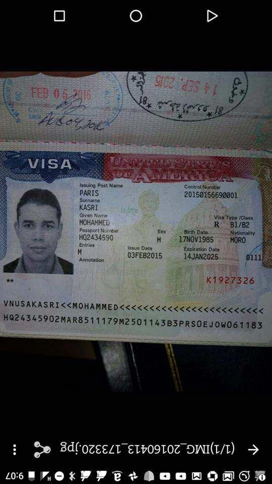 Mohamed Kasri sells Fake Royal Air Maroc Ticket to Travelers