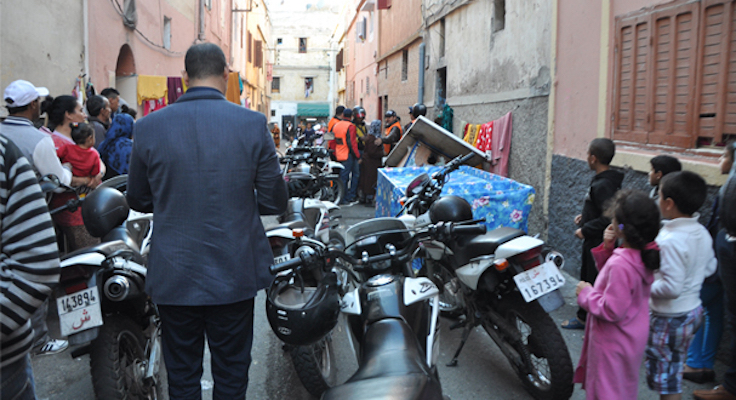 Moroccan Police in Marrakech
