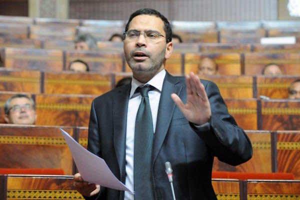 Moroccan minister of communication Mustapha Khalfi