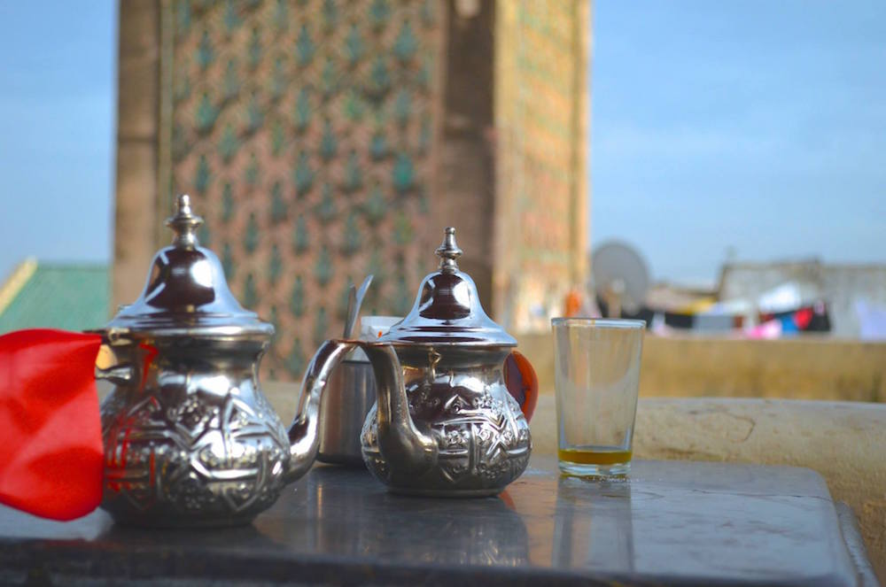 Moroccan mint tea. Photo by Jack Stanvsek/MWN