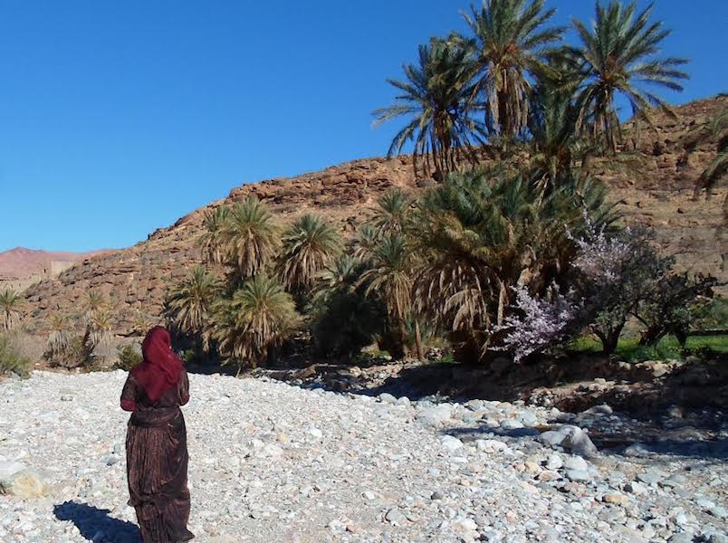 Moroccan woman in a vilage near Agadir