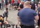 English Fans Throw Coins to Migrant Children, Make Fun of Them
