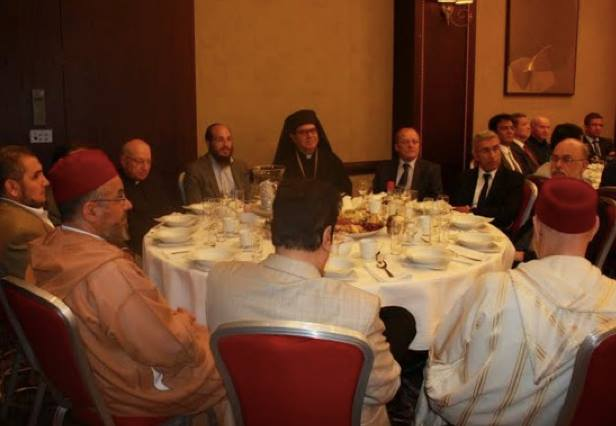 Muslims, Christians, and Jews Share an Iftar in Brussels