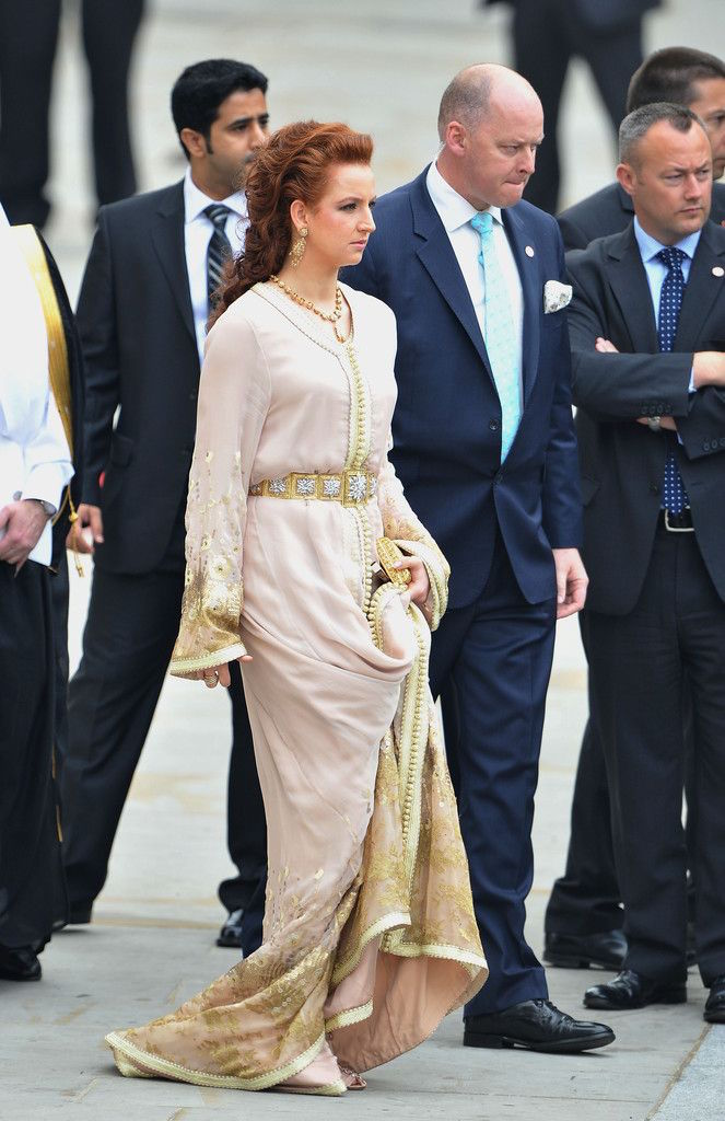 Princess Lalla Salma at the Prince William and Kate Middleton wedding