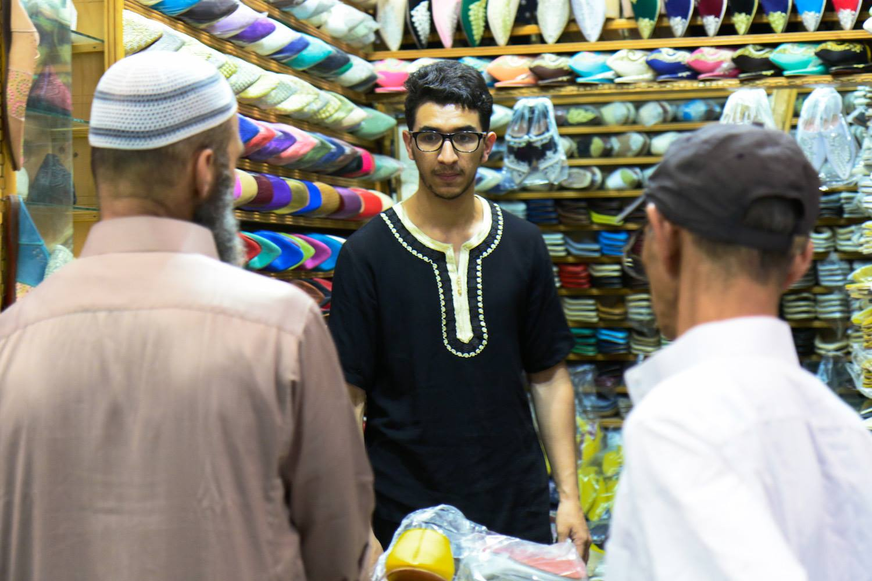 Souk Ebbat, Shoes Market inside the Kissariat Al Kifah