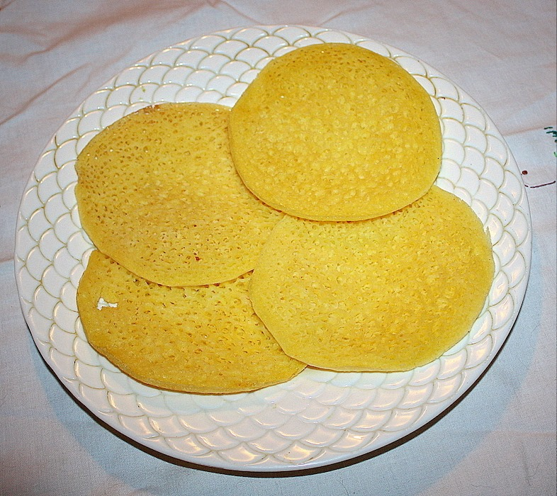 The baghrir is an ancient Berber pancake that originated in North Africa and is today very popular in Morocco