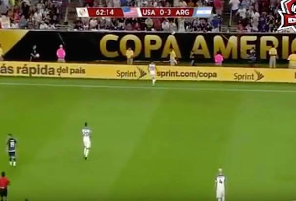 Video: Argentina vs United States 4-0