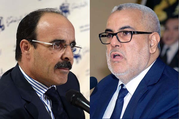 debate between Abdelila Benkirane of the PJD and Ilyas El Omari of the PAM in September