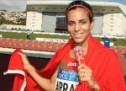 African Championships in Athletics: Moroccan Rabab Arafi Wins Silver in 1.500m