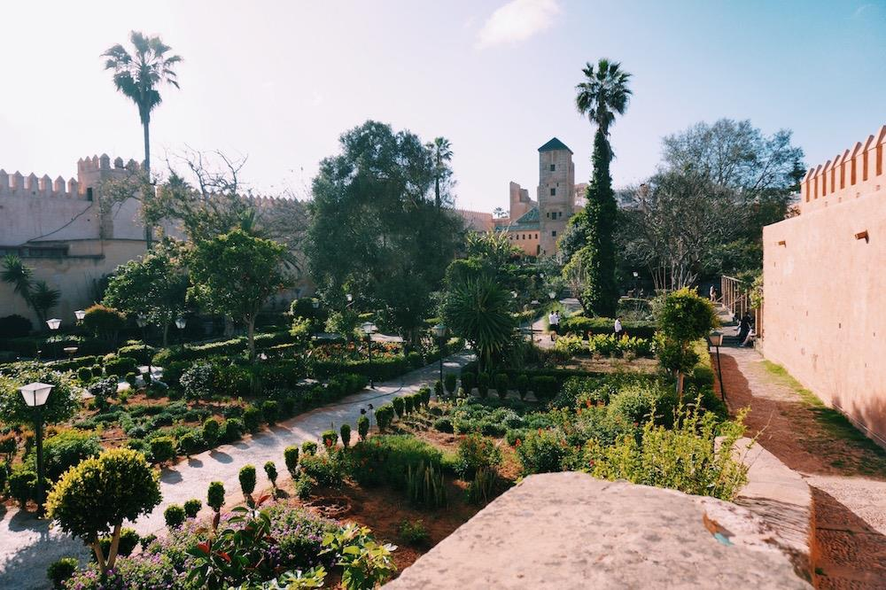 The fragrant Andalusian gardens in Rabat. Photo by Emma Julia Vos