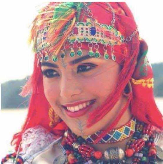 A Moroccan Amazigh woman