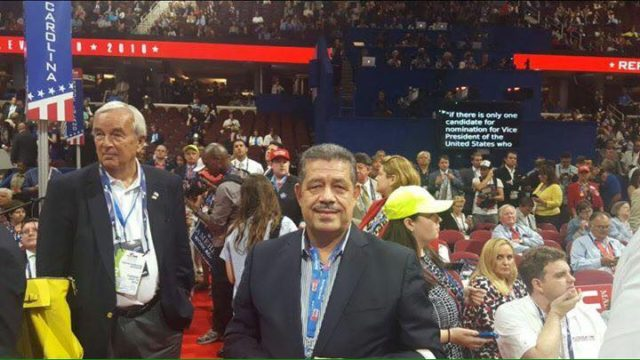 Hamid Chabat, the Secretary General of the Istiqlal Party (Independence Party) at the Nomination of Donald Trump