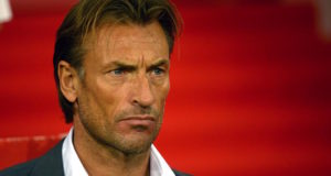 Hervé Renard, Morocco's National Football Couch. Photo: AFP/ DENIS CHARLET