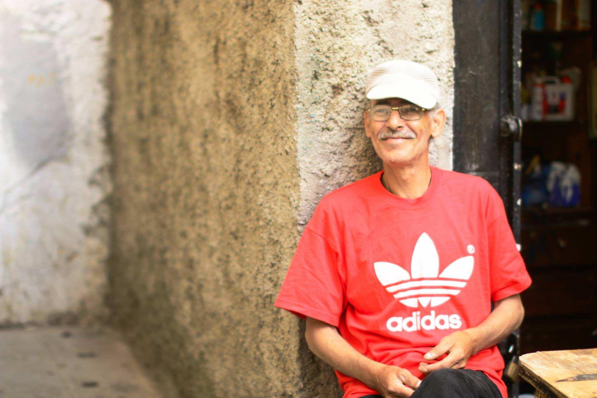 Inside the Walls of Old Medinas- Moroccan man in Rabat