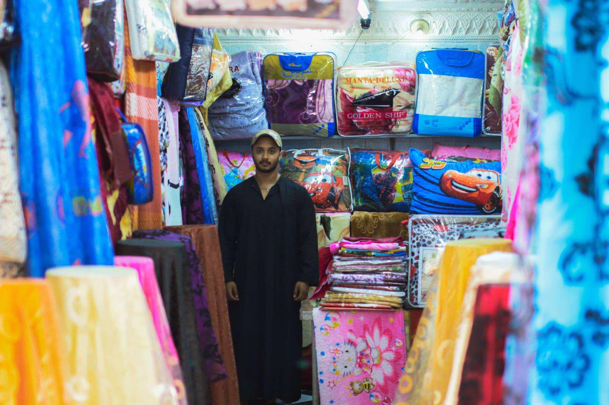 Inside the Walls of Old Medinas- Shop owner in Rabat