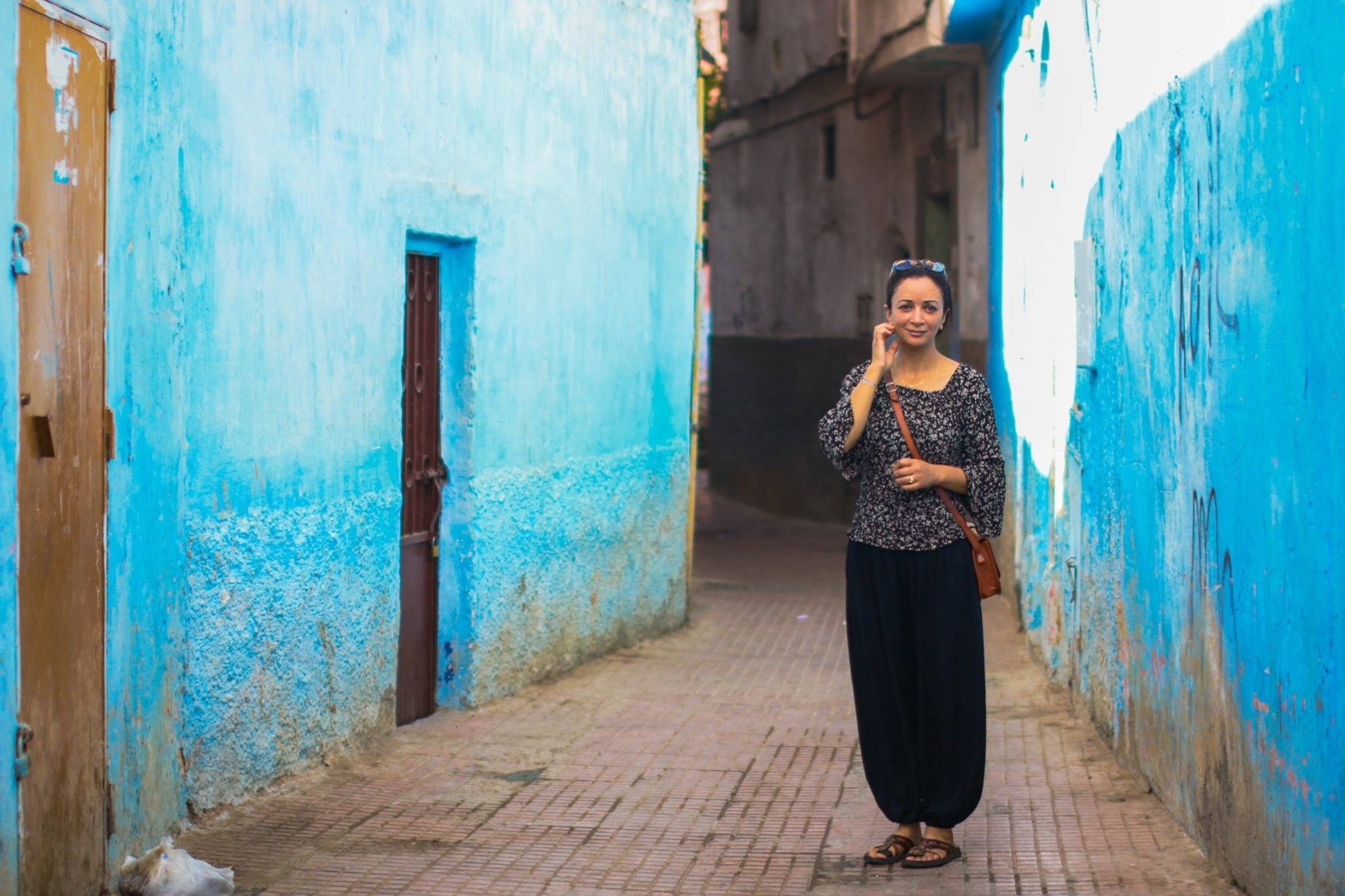 Inside the Walls of Old Medinas- Smile from Rabat
