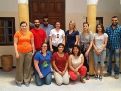 International students at the Moroccan Center for Arabic Studies