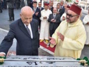 King Mohammed VI and Abderrahmane Yousssoufi