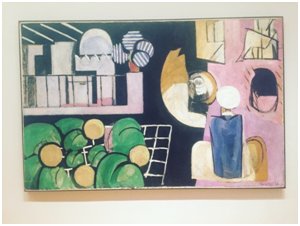 Moma Museum, The Moroccans by Matisse, New York 2016
