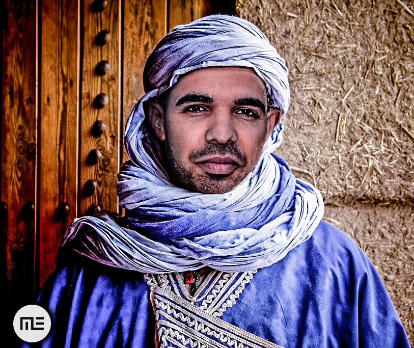 Moroccan Artist Portrays International Singers as Moroccans......