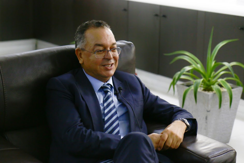 Morocco's Minister of Tourism, Lahcen Haddad