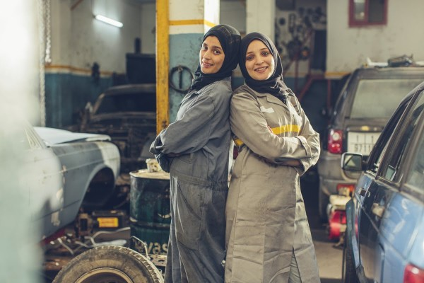 Princess Auto: Two Young Moroccan Women Dream Big