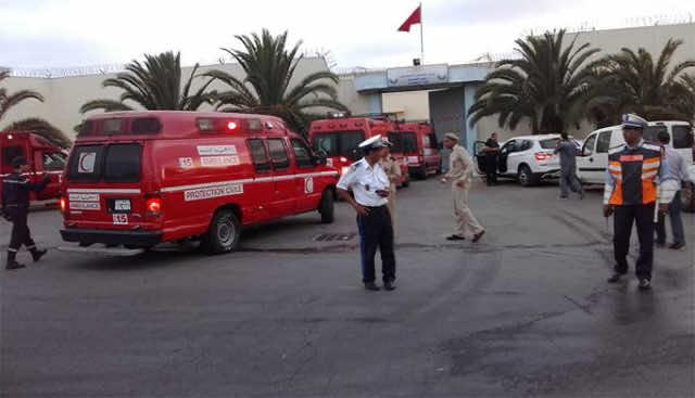 Nine Inmates Suffer Asphyxia due to Fire in Casablanca Prison
