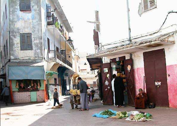 Rabat Street Vendors Seeks o Legalize Their Work