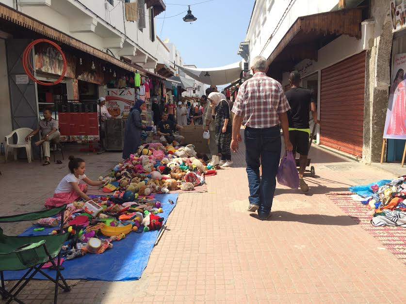 Rabat's Old Medina is quiet and significantly emptier during the day