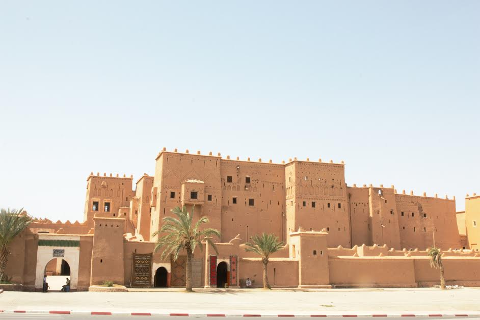 Kasbah de Taourirt, Morocco. Photo by: Kimberly J. Avalos/Morocco World News.