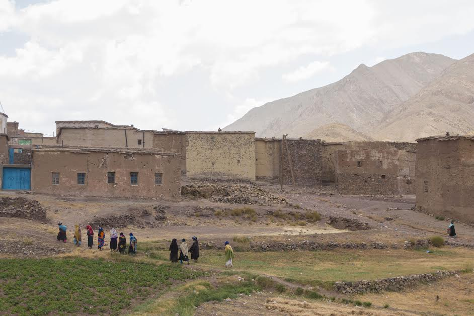 The Village of Anfgou in the Atlas mountains
