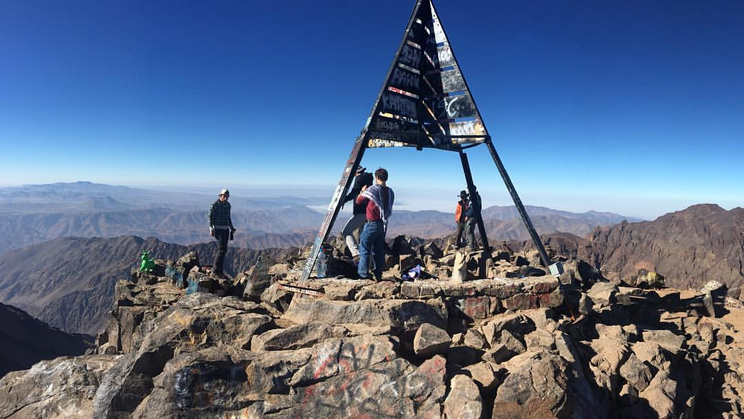 Toubkal Summit, Morocco