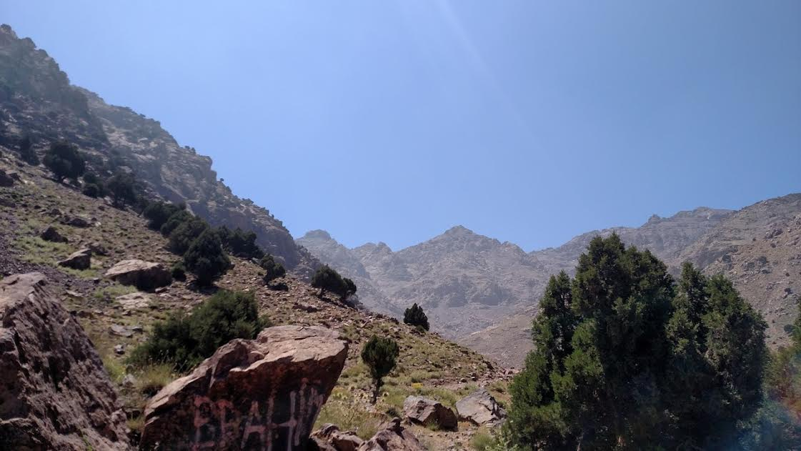 Toubkal first turn