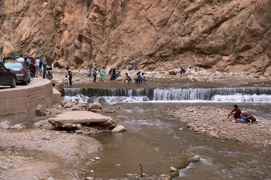 Tthe Grand Canyon of Morocco, the Todgha Gorge canyon located in the eastern part of the High Atlas Mountains