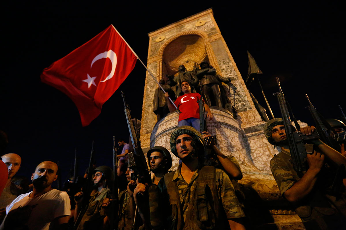 Erdogan Vows to Punish Perpetrators of the Failed Coup in Turkey