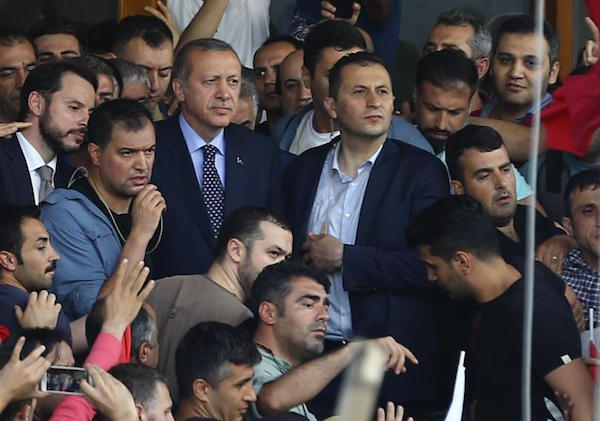 Erdogan: A Massive Campaign of Arrests Is Taking Place Within the Army
