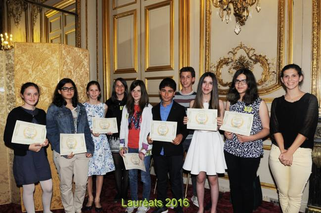 Two Moroccan Youths Proudly Represent Morocco in Le Plumier d'Or